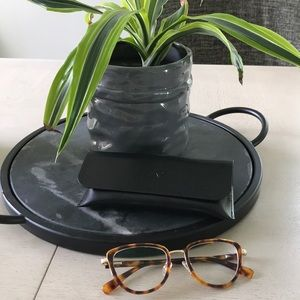 TIJN Federica Whiskey Tortoise glasses